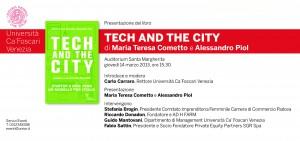 invito Venezia 14 marzo Tech and the City