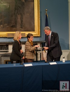 Cometto regala Tech and the City a de Blasio 16-5-14